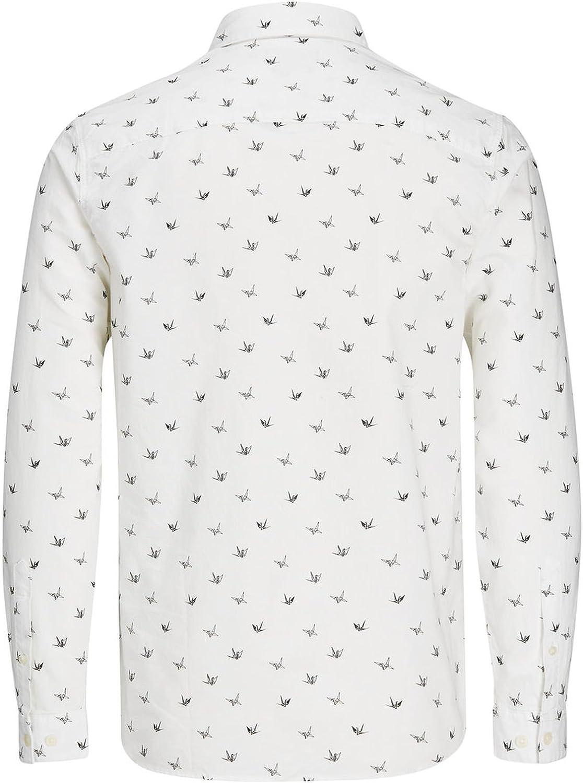 JACK /& JONES Jorchoppy Shirt LS Camisa para Hombre