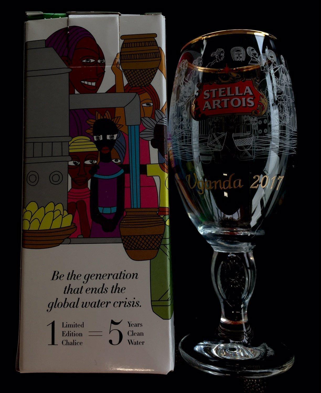 Stella Artois Chalice Engraving, STELLA CHALICE 33Cl, Stella Artois Buy a Lady a Drink, Cambodia, Uganda and Brazil Chalice, Stella Chalice Engraved, Buy a Lady a Drink, Engraved Glassware Gifts by Akoko Art Handengraved Crystal Glass (Image #2)