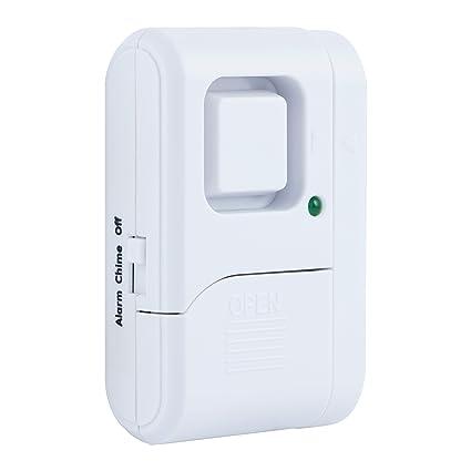GE Personal Security Window/Door Alarm, DIY Home Protection, Burglar Alert,  Magnetic Sensor, Off/Chime/Alarm, Easy Installation, Ideal for Home, ...