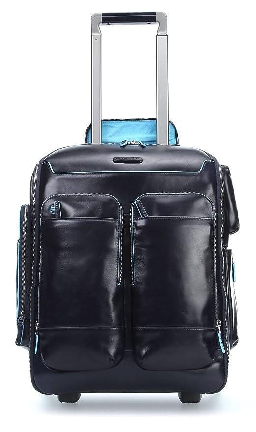 152e0e3309 Piquadro Blue Square trolley-zaino formato cabina - CA3797B2 (Blu notte)