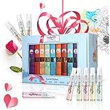 9 Pcs Mini Fragrances Gift Set, LuckyFine 9 Scent City Perfume Set Spray Gift Set for Women Girls Set