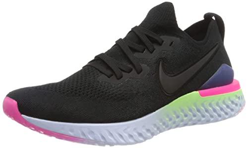 Nike Epic React Flyknit Wolf Grey Running Schuhe Damen