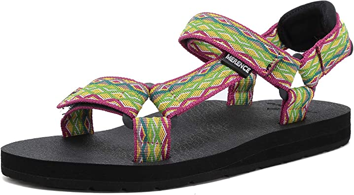 Amazon.com | Women's Original Sandals Sport Sandals with Arch Support Yoga  Mat Insole Hiking Outdoor Light Weight Water Shoes | Sport Sandals & Slides