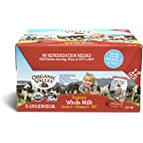 Organic Valley, Organic Milk Boxes, Whole Milk, 6.75 Ounces (Pack of 12)