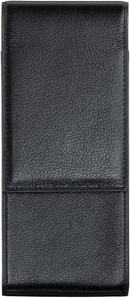 Lamy 203 - Estuche (piel, para 3 instrumentos de escritura), color negro: Amazon.es: Oficina y papelería