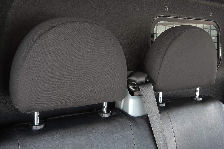 2 Einzelsitze vorne Kunstleder Sitzbezug anthrazit kompatibel mit Ford Transit Walser 11543 Autoschonbez/üge Transporter Passform
