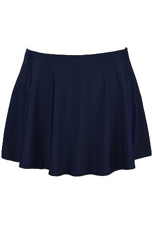 Black skirt bikini bottom