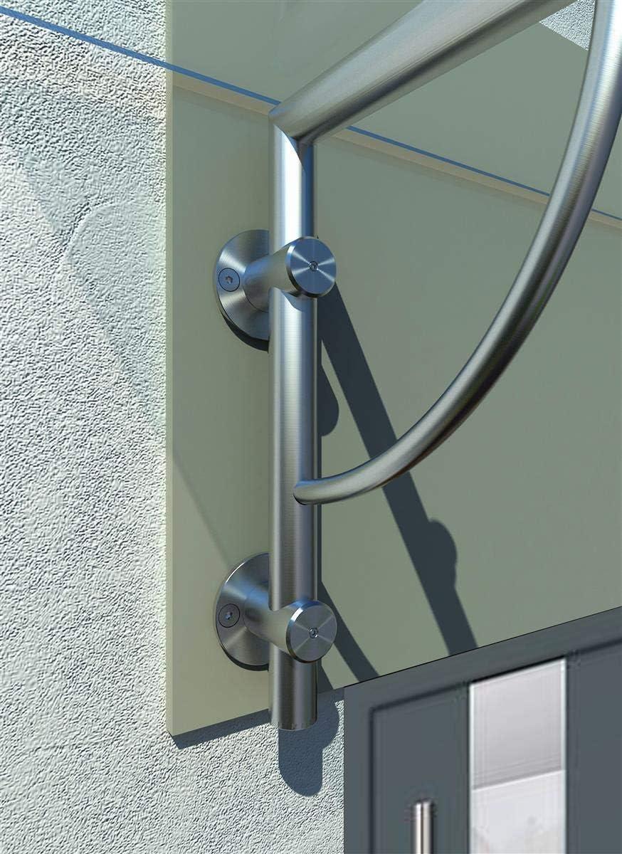 Porte dentr/ée dais verre Typ - Std, 140x90cm Auvent de la porte Dais Porte Glaszentrum Hagen Auvent en verre Verre Dais