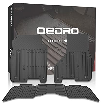 Amazon Com Oedro Floor Mats Liners Compatible For 2013 2017 Dodge