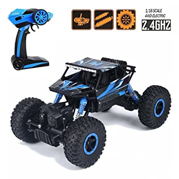 tuptoel toys for boys off road rc cars 118 scale mouster car 24