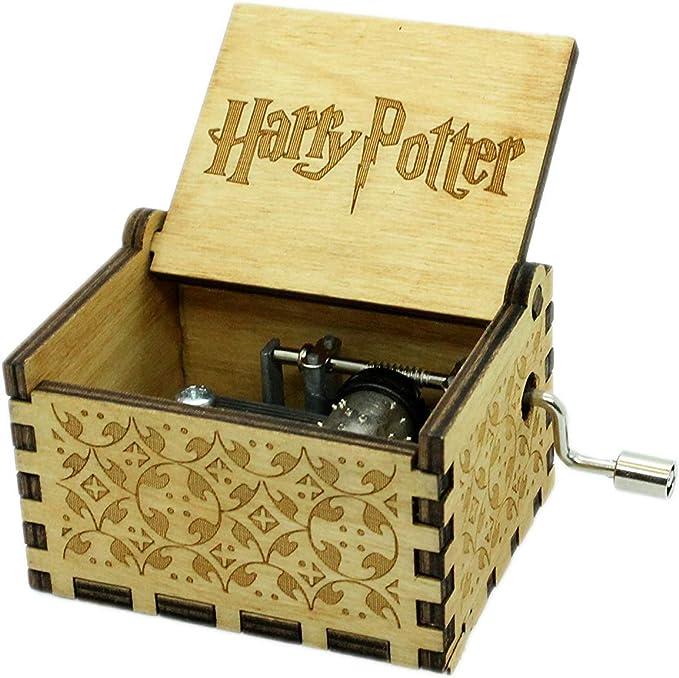 AMY Harry Potter Madera Caja de Música - Marron: Amazon.es: Hogar