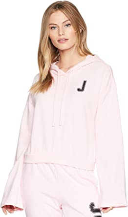 be29fdcde8 Amazon.com  Juicy Couture Womens French Terry Logo Bell Sleeve ...