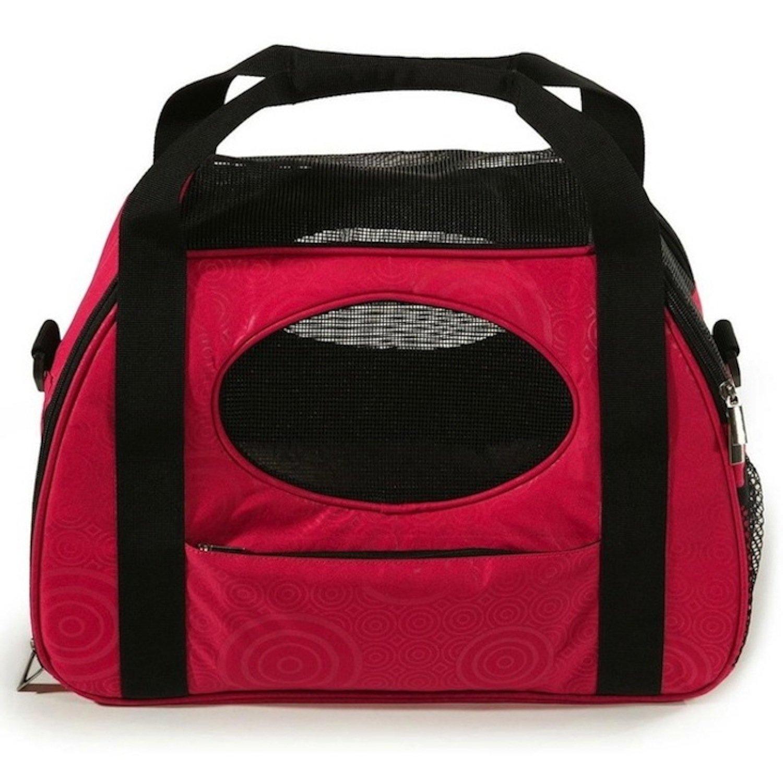 Gen7Pets Carry-Me Fashion Pet Carrier, Medium, Raspberry Sorbet
