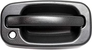 Amazon Com Rear Exterior Door Handle Compatible With Chevrolet Tahoe Yukon 2000 2006 Back Door Textured Black Split Type Door Automotive