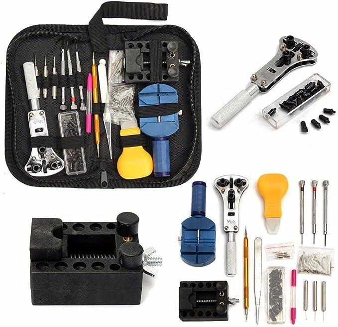 1-406X Uhren Reparatur Werkzeug Kit Rückschale Öffner Entferner Brecheisen