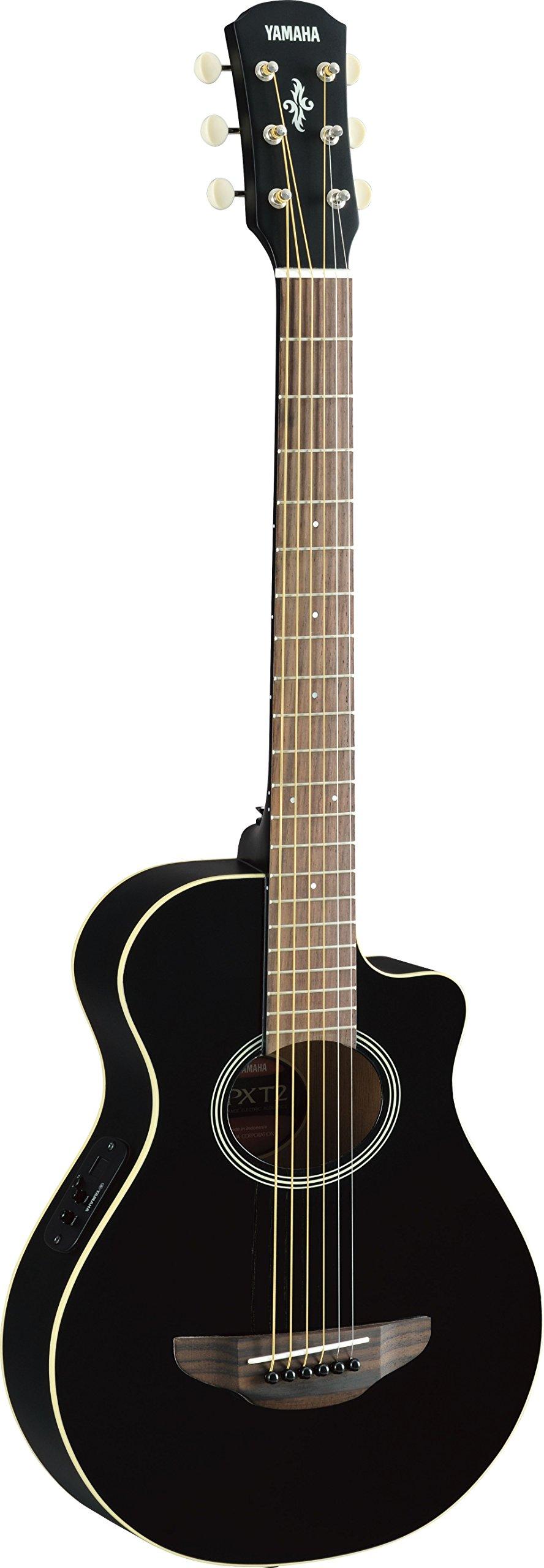 Yamaha APXT2 3/4-Size Acoustic-Electric Guitar - Black by YAMAHA