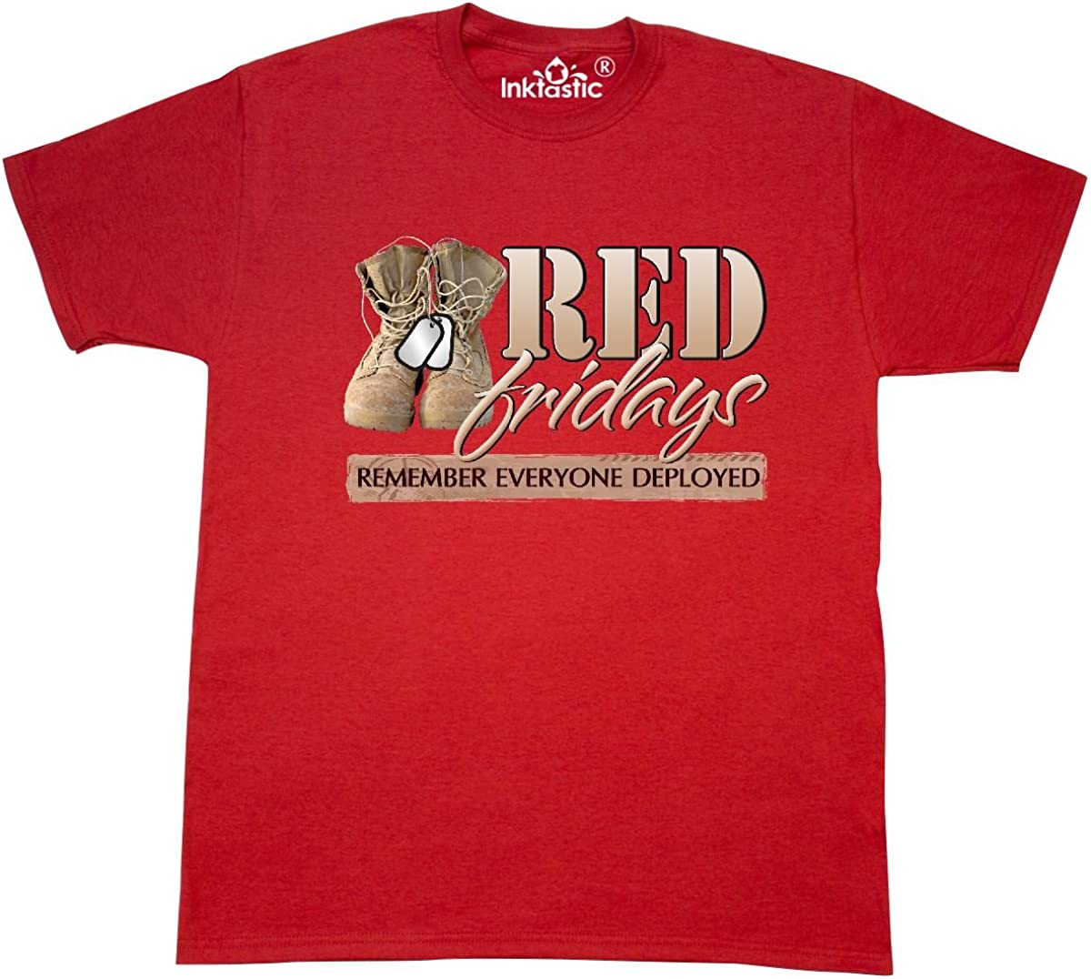 inktastic Red Fridays (Remember Everyone Deployed) T-Shirt