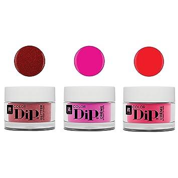 Red Carpet Manicure Professional Color Dip Nail Dip Powder 0 3 Oz, 3 Piece  Set