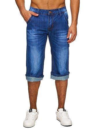 Stone Herren H1734Bekleidung Bermuda Washed Shorts Jeans MSGzpqUV