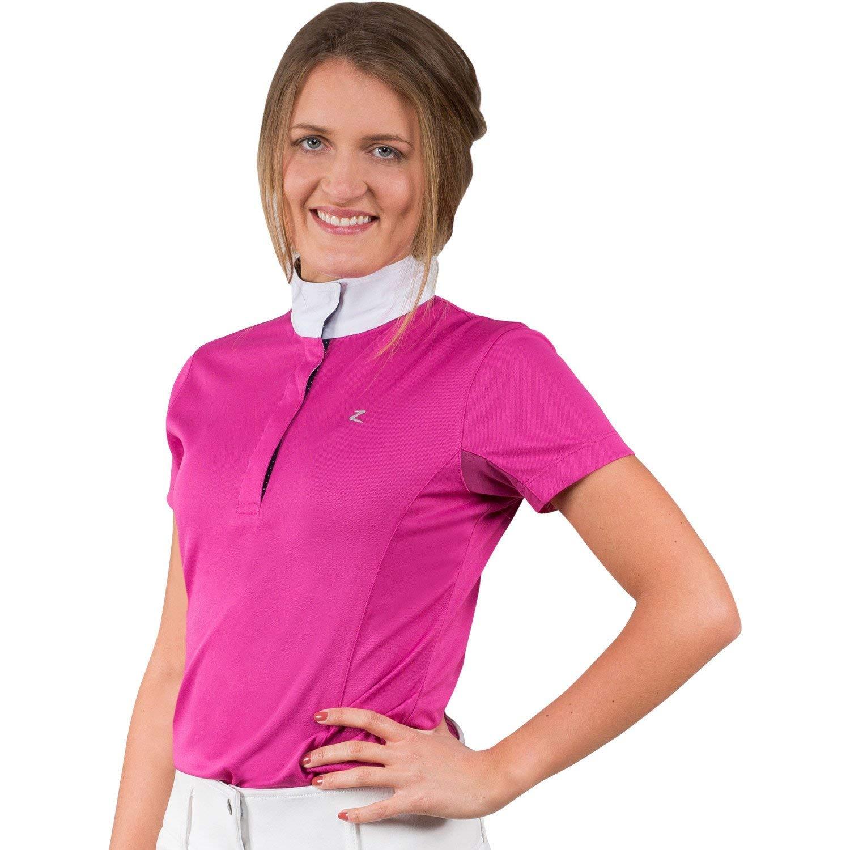 Horze Blaire Womens Short-Sleeved Functional Show Shirt