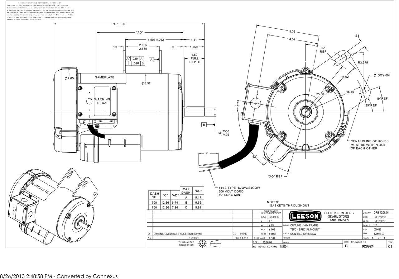 Leeson 3 Phase Motor Wiring Diagram On 30 Hp Wiring Diagram Leeson