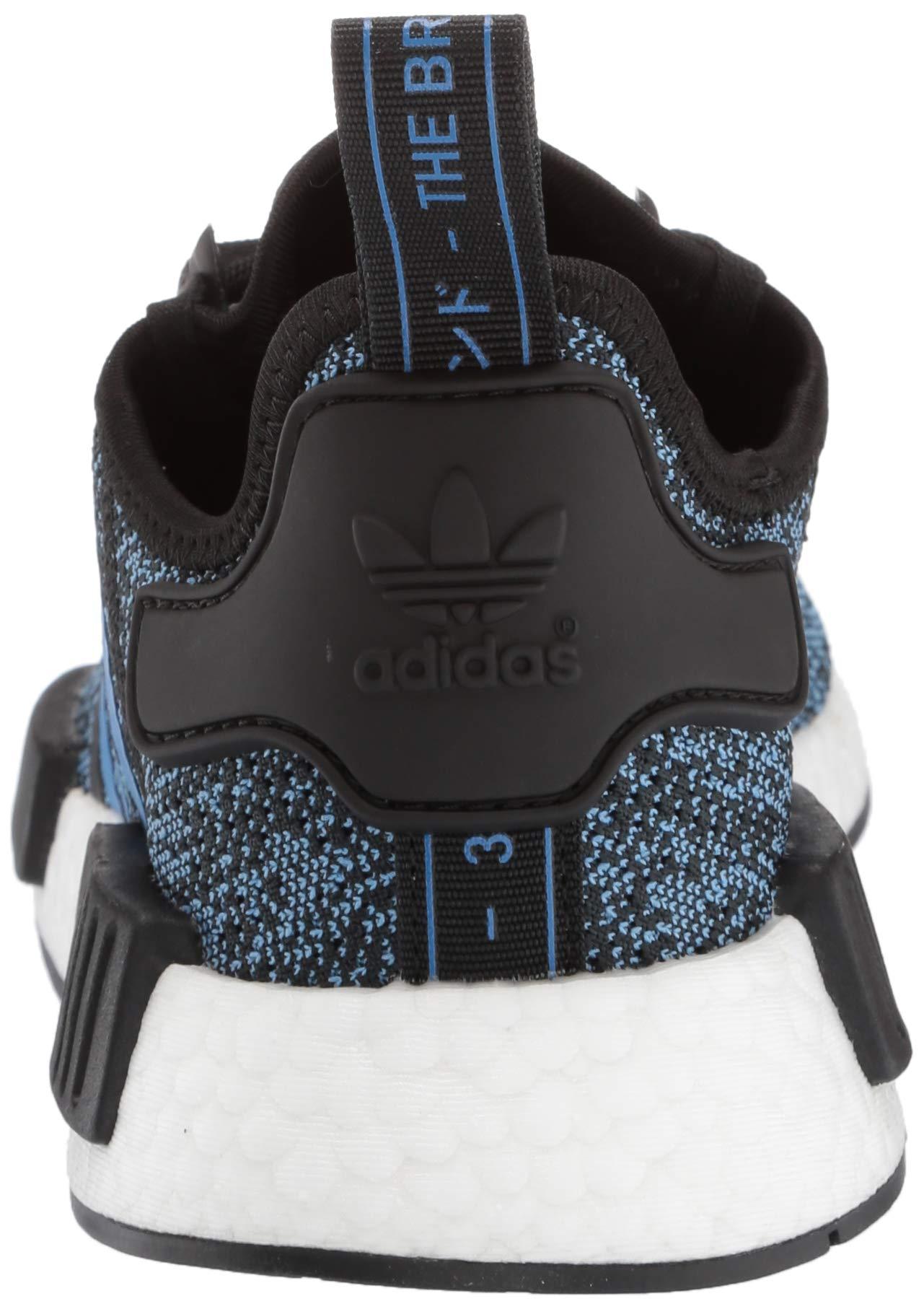 adidas Originals NMD_R1 Running Shoe True Blue/Utility Black, 3.5 M US Big Kid by adidas Originals (Image #2)
