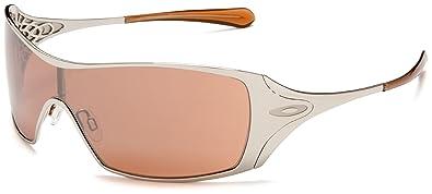 ae7406b1e Oakley Dart - Lunettes de soleil femme - Chrome / Vr28 Black Iridium -  taille unique