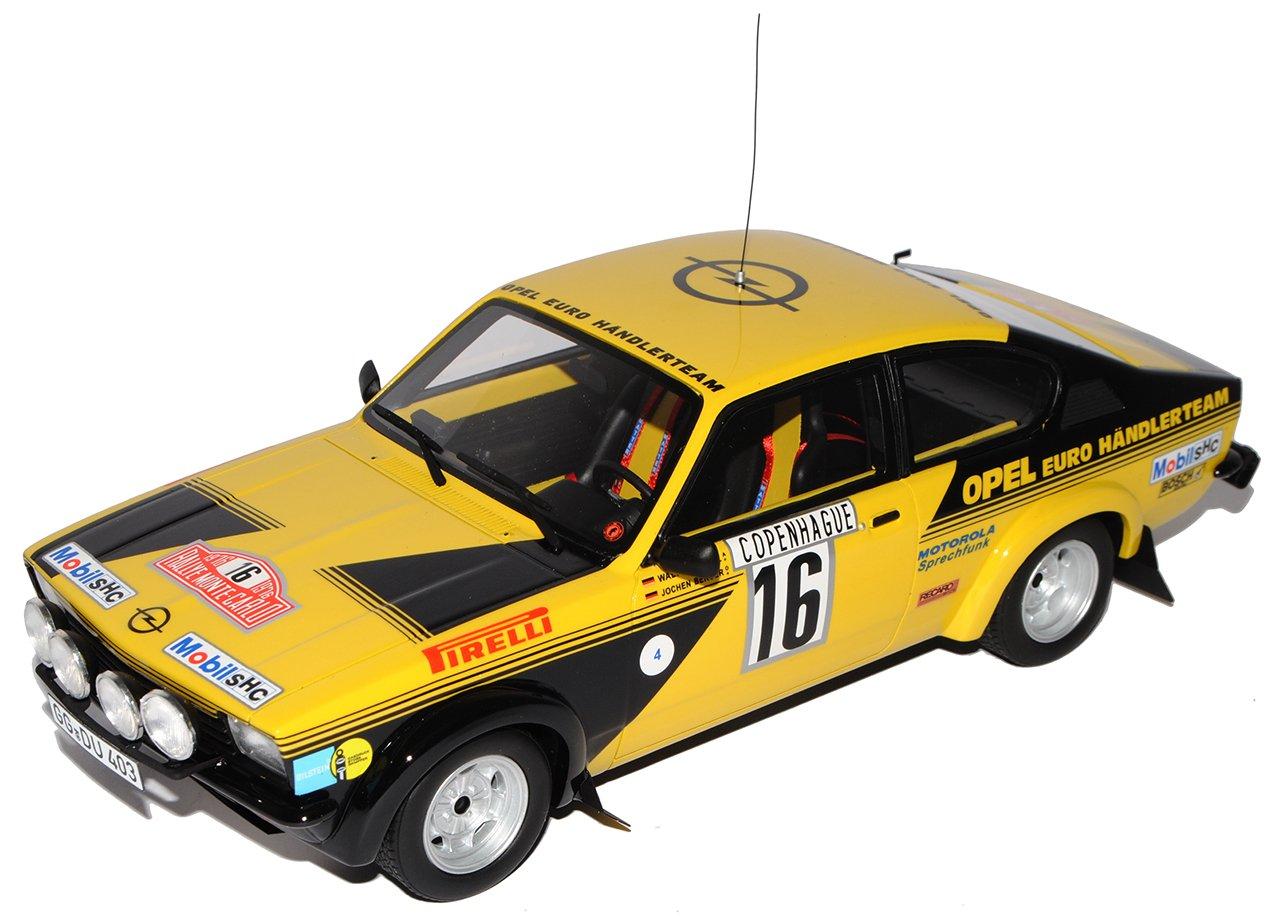 Opel Kadett GTE Gruppe 4 Rally Monte Carlo Röhrl Nr 195 1/18 Otto Modell Auto mit individiuellem Wunschkennzeichen