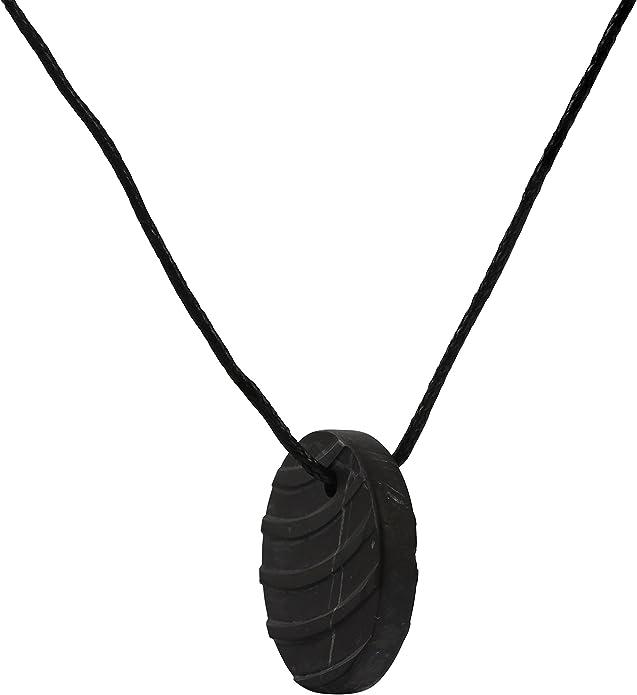 Bijou Shungite Tendance et Utilis/é pour l/équilibre des Chakras et de l/énergie Collier Pendentif en Shungite pour une Protection Contre les Ondes /Électromagn/étiques