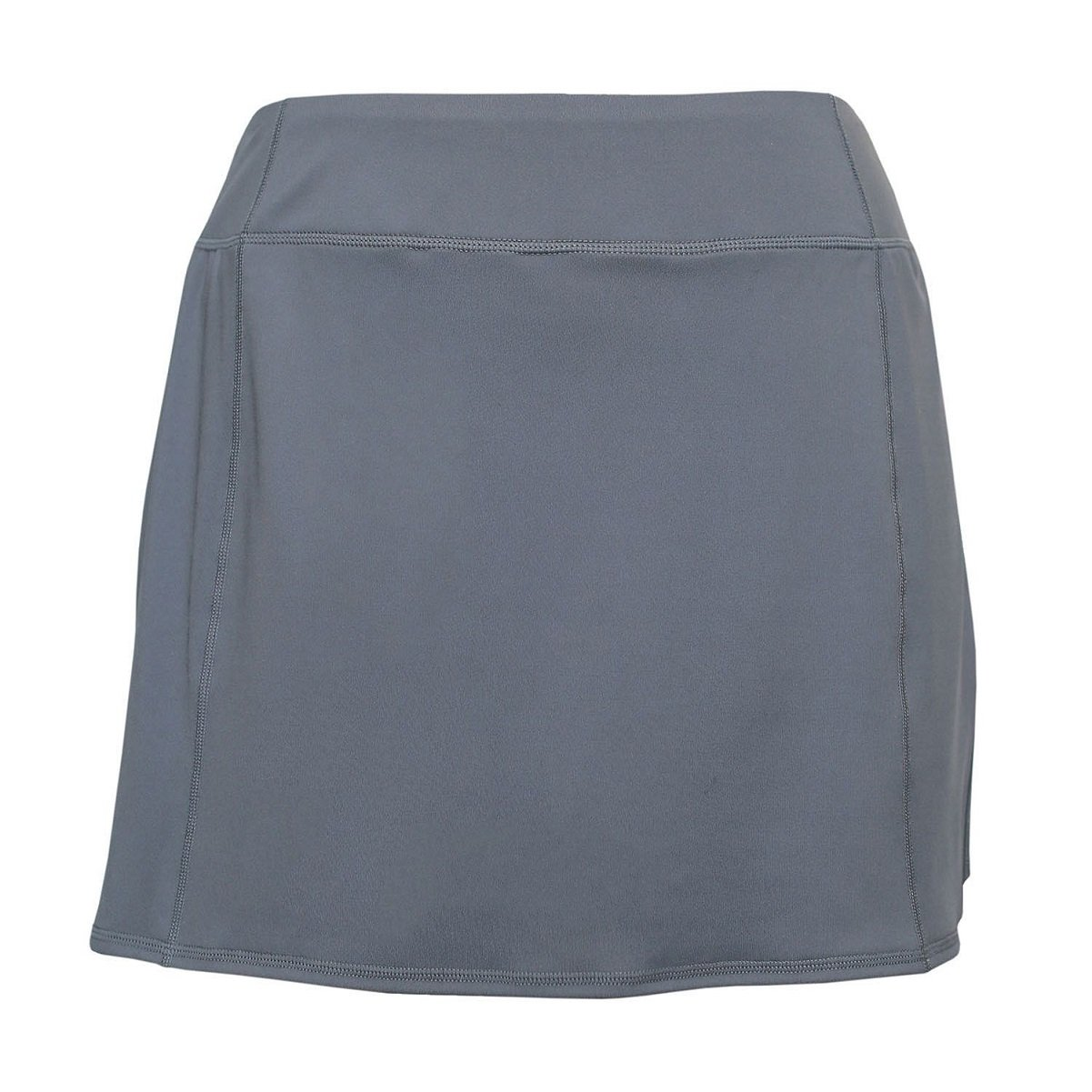 Tangerine Women's Active Skort with Perforated Trim (X-Large, Grey)