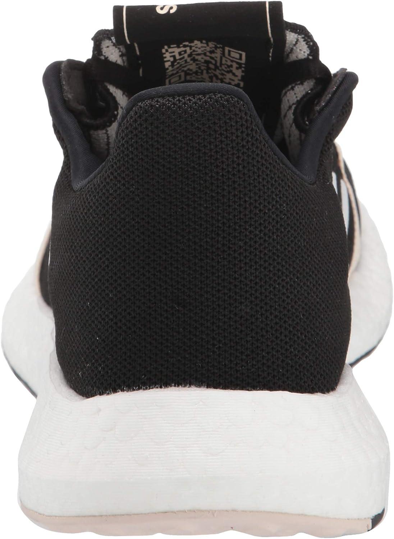 adidas Men's Senseboost Go M Running Shoe Core Black/Ftwr White/Linen