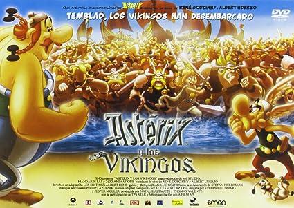 Astérix Y Los Vikingos - Edición Horizontal [DVD]: Amazon.es: Personajes Animados, Stefan Fjeldmark, Jesper Moller, Personajes Animados, Thomas Valentin: Cine y Series TV