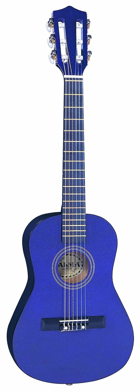 Palma PJPLOFT - Guitarra acústica con cuerdas metálicas, color morado: Amazon.es: Instrumentos musicales