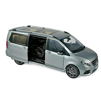 Norev 2020 Mercedes Benz V-Class AMG Line Van Gray Metallic 1/18 Diecast Model Car 183488: Toys & Games