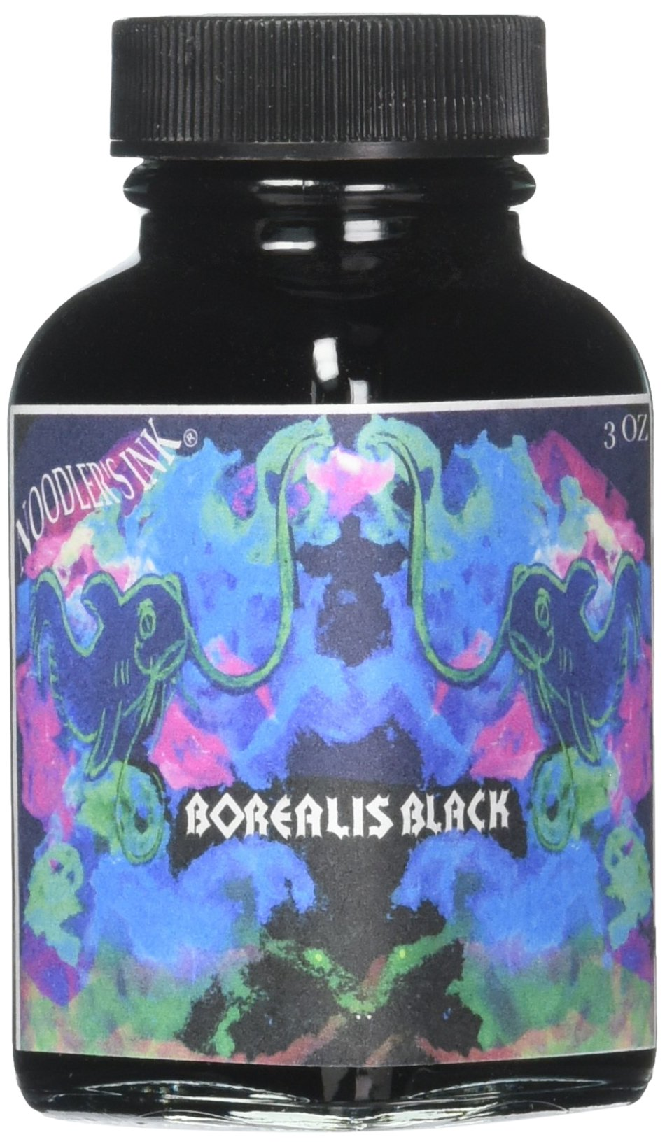 Noodlers Ink 3 Oz Borealis Black