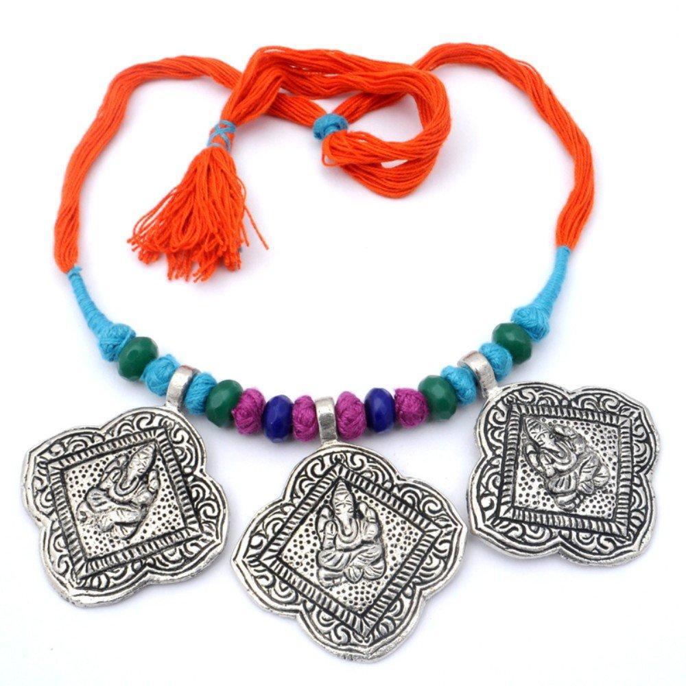 Green Plan Beads Silver Plated 15 Grams Beacelet 7-9 Long Handmade Jewellry Ethnic Wear
