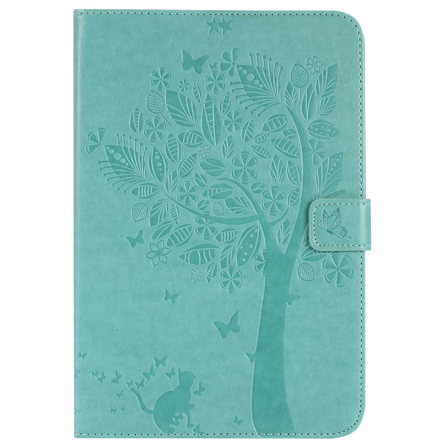 Bear Village Galaxy Tab a 8.0 Inch Case, Leather Magnetic Case, Fullbody Protective Cover with Stand Function for Samsung Galaxy Tab a 8.0 Inch, Green by Bear Village