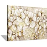 Floral Flower Canvas Wall Art: Blossom Botanical Picture Print Painting for Living Rooms Office Bedrooms (36''x24'')