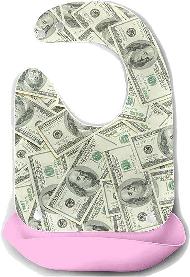 Amazon Com Baby Bibs Food With Money American Hundred Dollar Bill Detachable Silicone Feeding Apron Mouse Towel Baby Feeding Dribble Drool Bib Infant Drool Bibs Waterproof Clothing