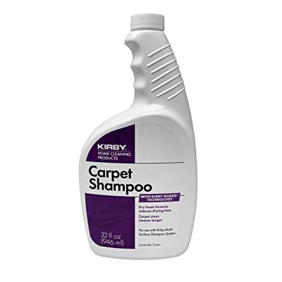 .com - Kirby 252702S 32oz.Carpet Shampoo12/Cs, 12 - Carpet Deodorizers