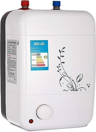 Baskets 2018 sélection spéciale de en soldes Chrisun Chauffe-eau électrique 10 Litres Chauffe-eau Instantané 1000W  Chauffe-eau électrique Avec Réservoir