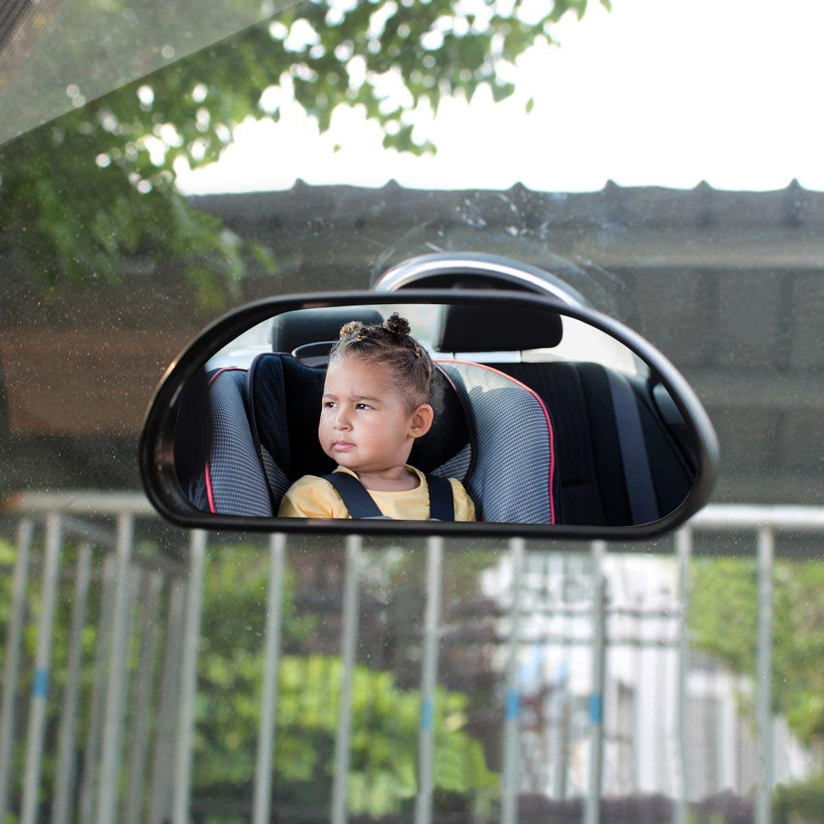 Espejo retrovisor para beb/é Espejo retrovisor de Seguridad Ajustable para beb/és 5.78 2.16 DIVISTAR Espejo retrovisor para Coche