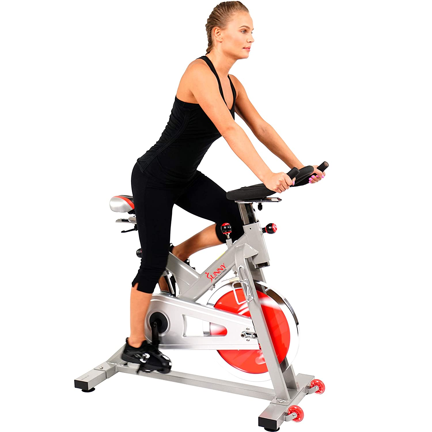 Sunny Health & Fitness Indoor Exercise Stationary Cycle Bike