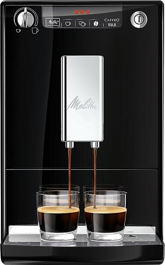 Melitta Solo E950 101 Bean To Cup Coffee Machine With Pre Brew Function Blacksilver
