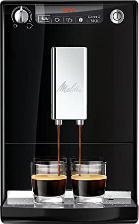Melitta Máquina de Café Automática Caffeo Solo (Negro) E950-101, 1400 W, 1.2 litros, plástico: Amazon.es: Hogar