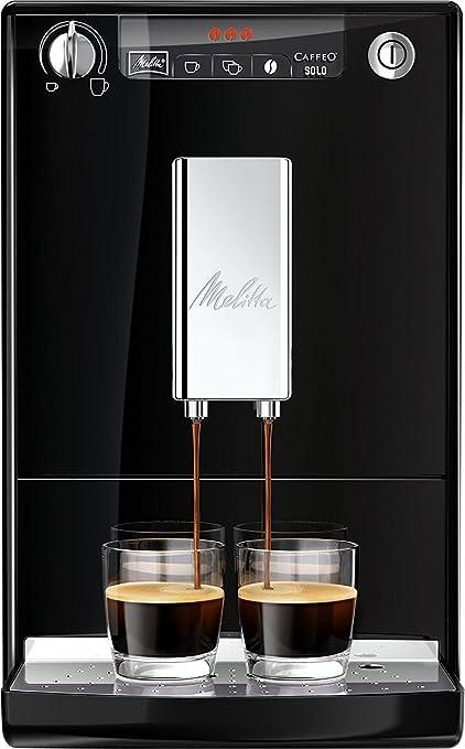 Melitta 19434.6, Negro, 1400 W - Máquina de café