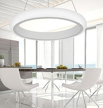 Ringleuchte Eine Ringe Hängelampe Wohnzimmer Modern Led Dimmbar ... Hangelampe Wohnzimmer Modern