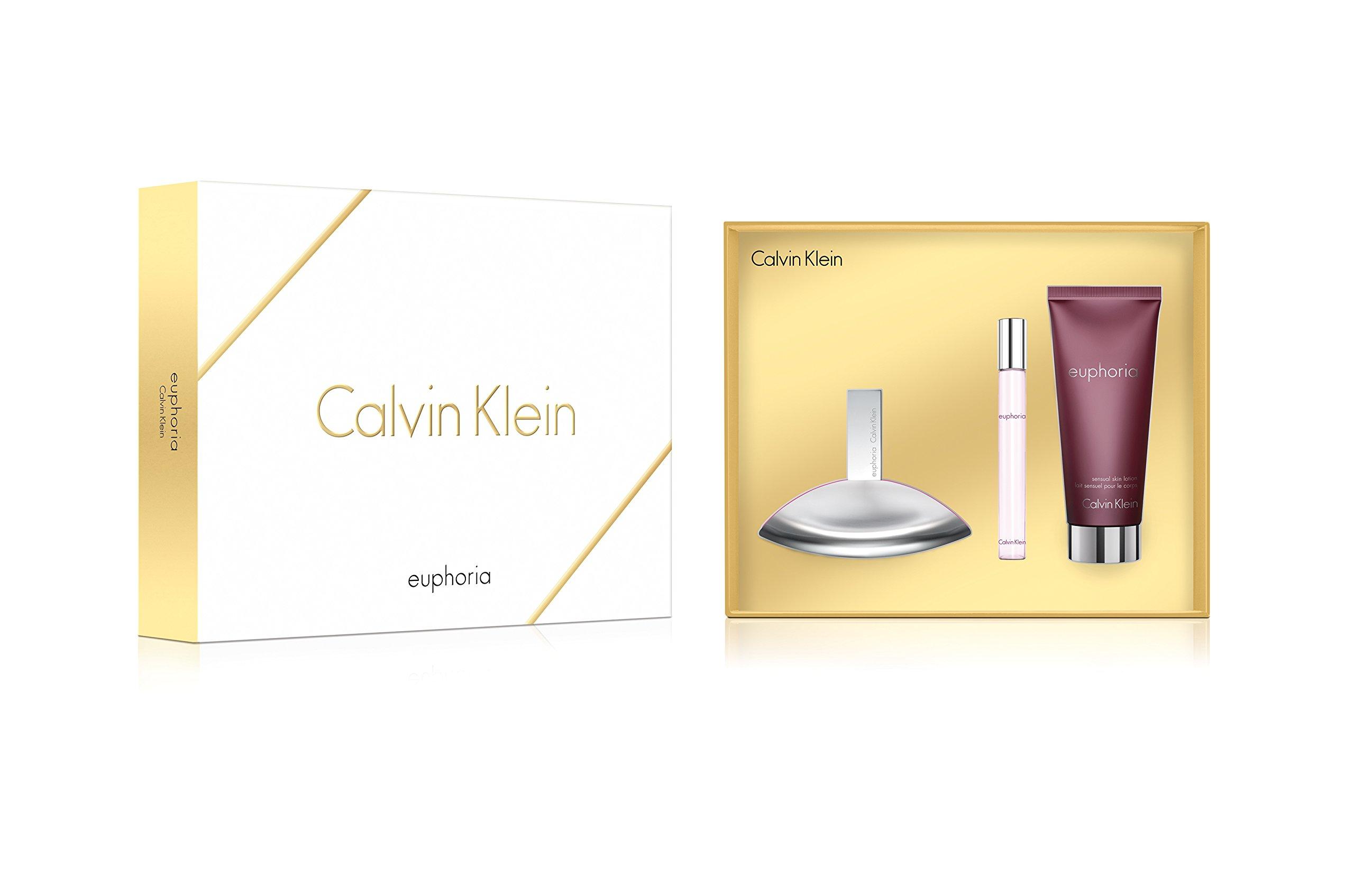 Calvin Klein 3 Piece Euphoria Holiday Gift Set