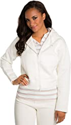 10760ef3105a54 Sweet Vibes Junior Women Fleece Zip up Hoodie Sweater