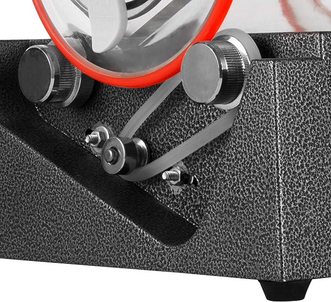Anhon Pulidor de Joyas 3 kg Limpiador de Perlas de Pulido M/áquina de Pulido de Joyas Vaso Joyer/ía Pulidor Finalizador Profesional Mini Joyer/ía Pulido M/áquina con Grano de Pulido